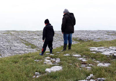 driving and walking tours of the burren mountain co. clare