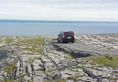sunset tour of burren mountains and galway bay