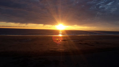 Sunset in Fanore